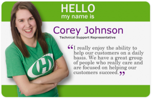 Staff Spotlight image - Corey Johnson