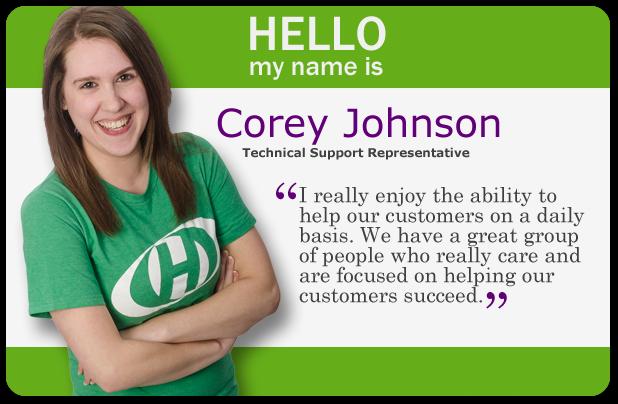 Staff Spotlight image - Corey Johnson