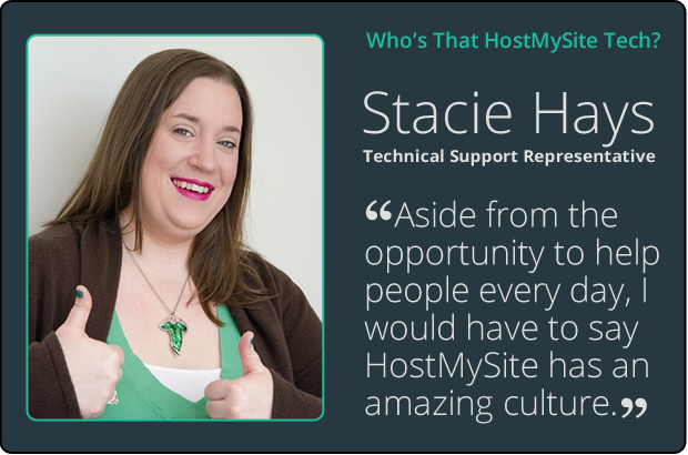 Stacy Hays Tech Support Profile
