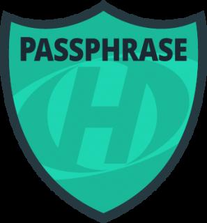 HostMySite Passphrase Badge