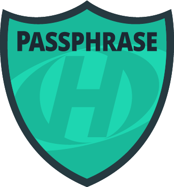 HostMySite Passphrase Badge