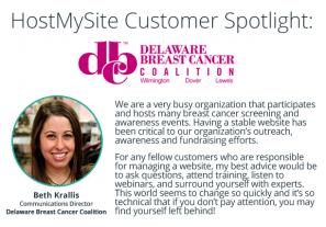 Beth Krallis - Delaware Breast Cancer Coalition