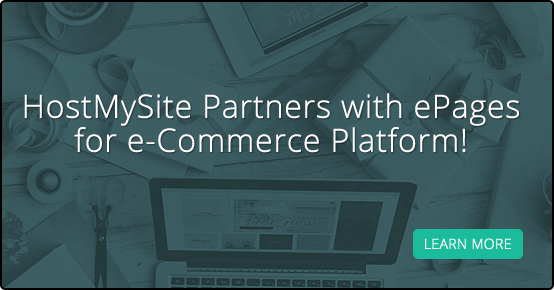 HostMySite Partners with ePages